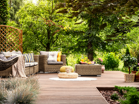 How to Add a Little Luxury to Your Outdoor Space