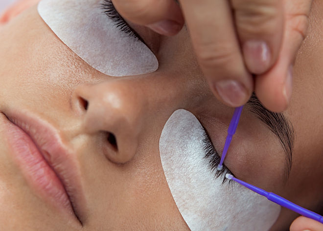 Cosmetic procedure for waving, dyeing an