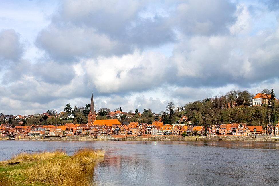 Historical city of Lauenburg Elbe, Germa