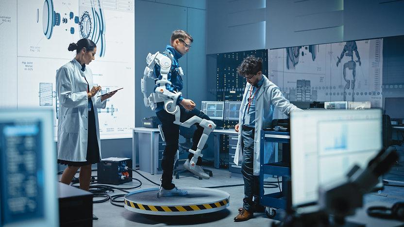 In Robotics Development Laboratory: Engi