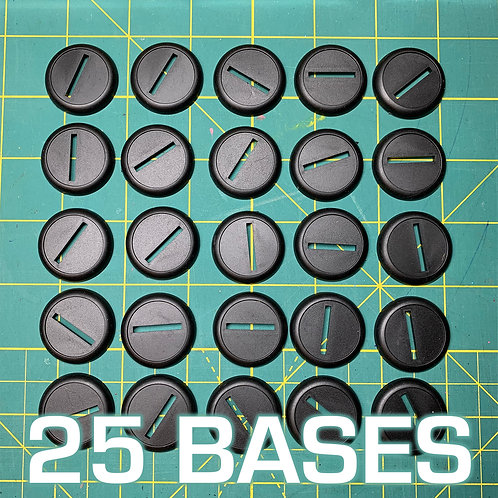 30mm Slotta Base w/ Lip (x25)