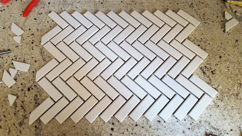 inexpensive mosaic tile | kitchen backsplash