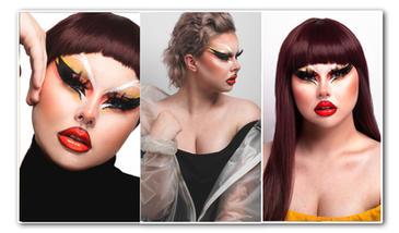 Tallulah Van Dank | Modelbook | Drag Glam