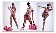 "Nadasia   Pretty in ""Pink""   Victoria Secret   XCEL Talent"