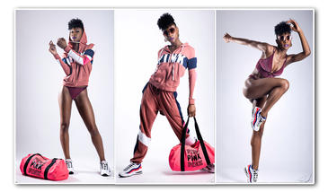 "Nadasia | Pretty in ""Pink"" | Victoria Secret | XCEL Talent"