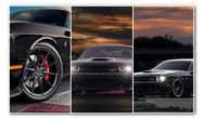 Dodge Hellcat   Black Diamond Wheels