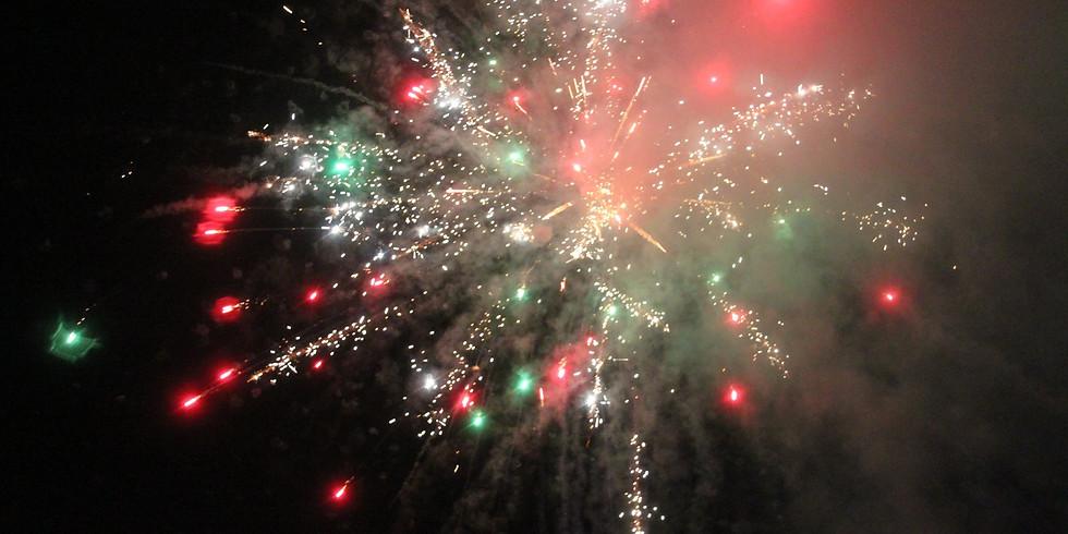 Halfway Community Fireworks Display