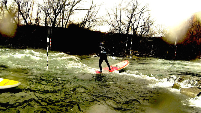 WW SUP session Valleyfield