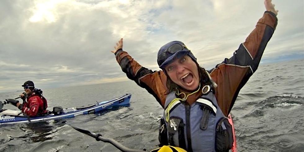 Justine Curvengen:                                 Sea kayaking the World