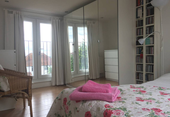 Bedroom 1 - view over London