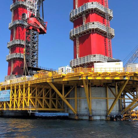 Canakkale Bridge Temporary Working Platform