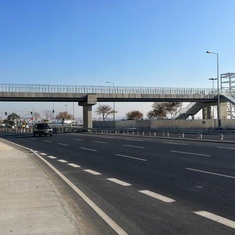 Eurasia Tunnel Footbridges