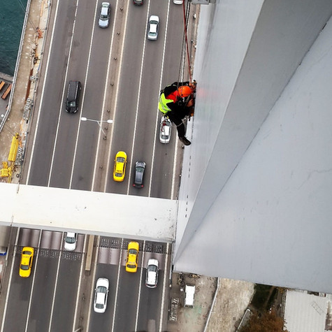 Bosphorus Bridge Tower Reinforcement