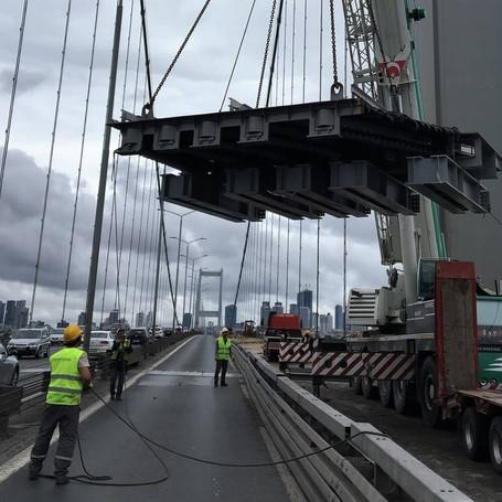 Bosphorus Bridge Modular Expansion Joint Replacement