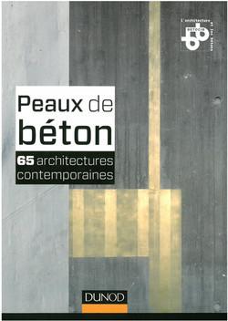Peau de Béton - Dunod 2013