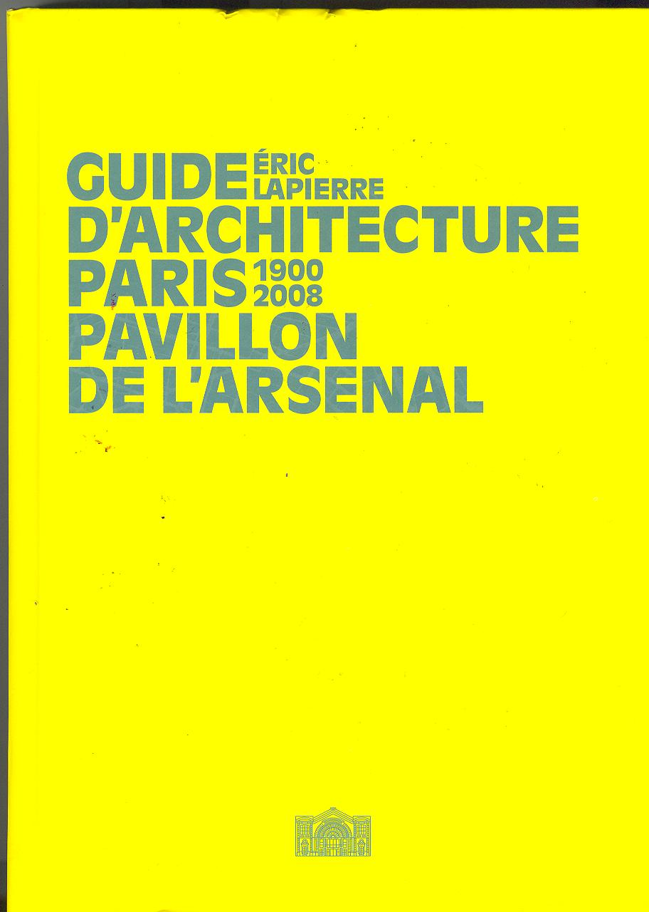 Guide d'architecture de Paris 2008