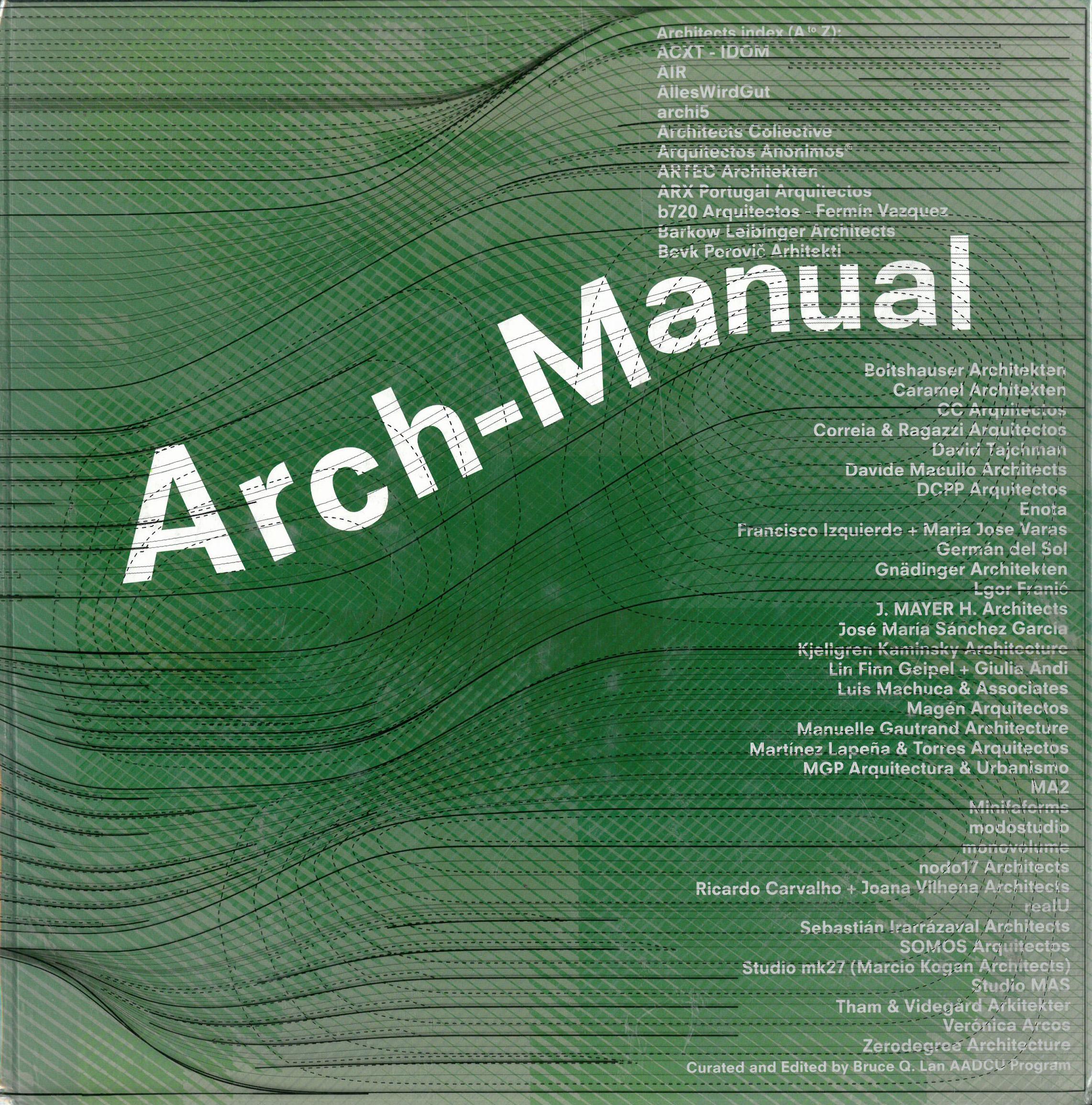 Arch-Manual 4 - AADCU 2011