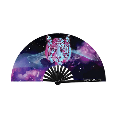 Space Tiger Fan (UV Glow)