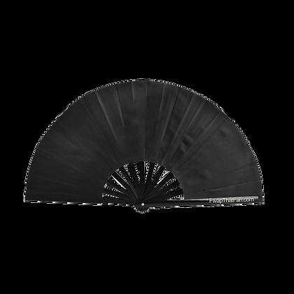 Solid Black Fan