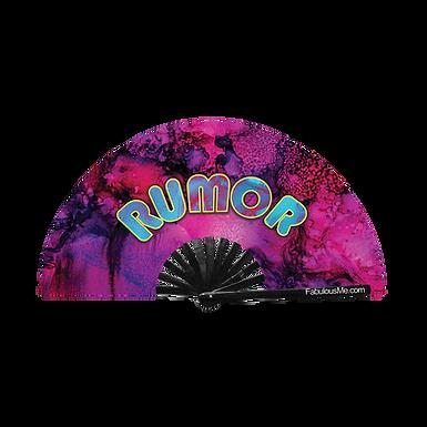 Rumor Fan (UV Glow)