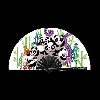 Panda Party Hand Fan