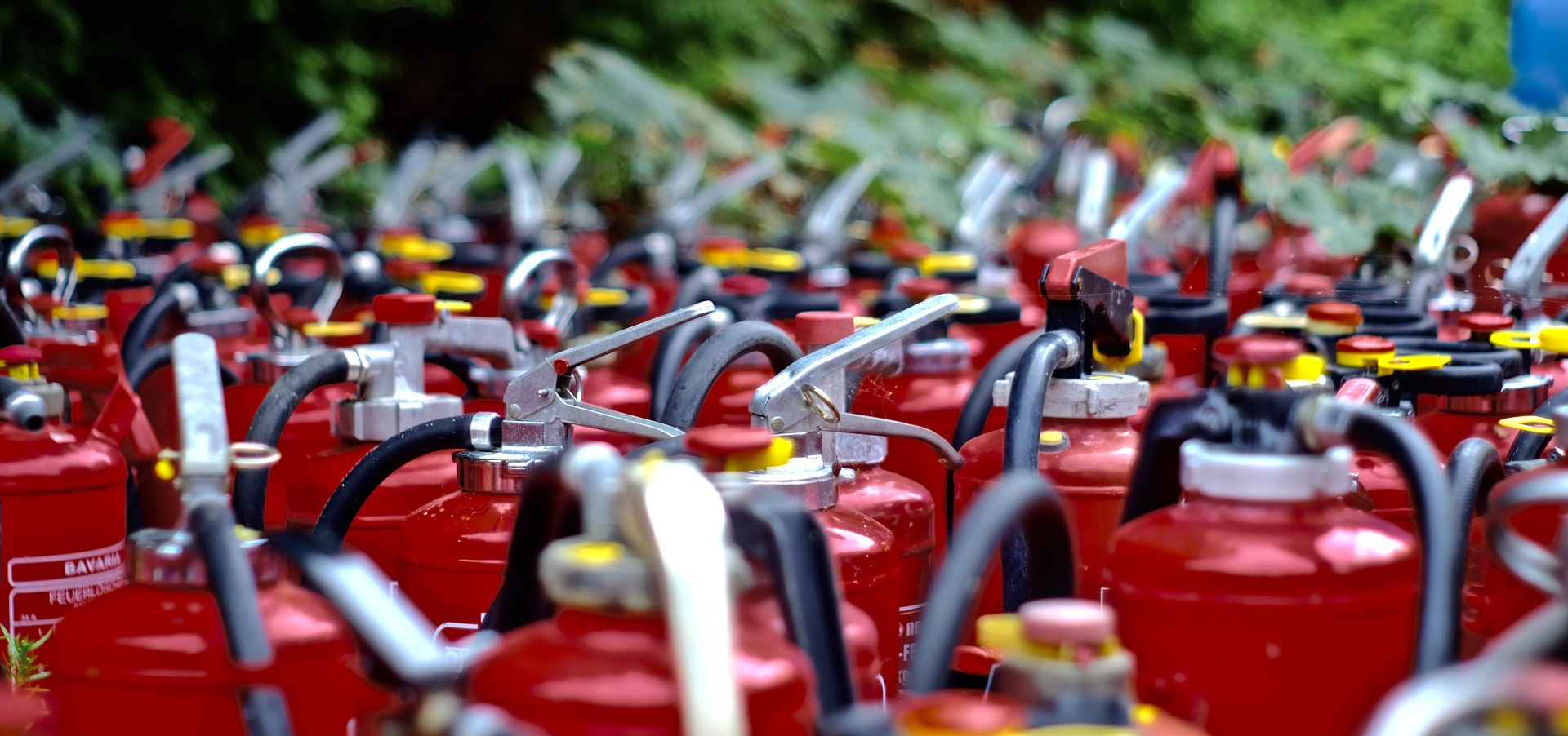 5 Types of fire extinguishers
