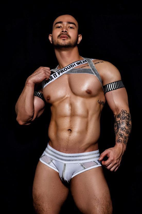 Gay Rave Chest Elastic Harness