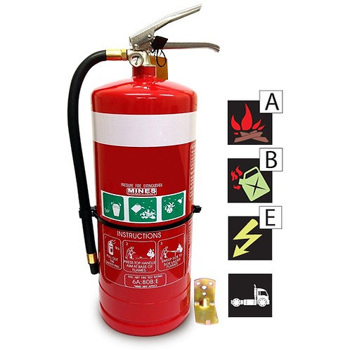 9Kg ABE Dry Chemical Fire Extinguisher
