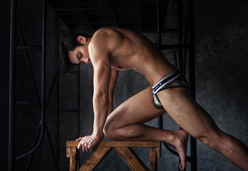 Men's Jockstrap Thong G-String