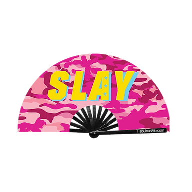 Military Slay Fan Pink