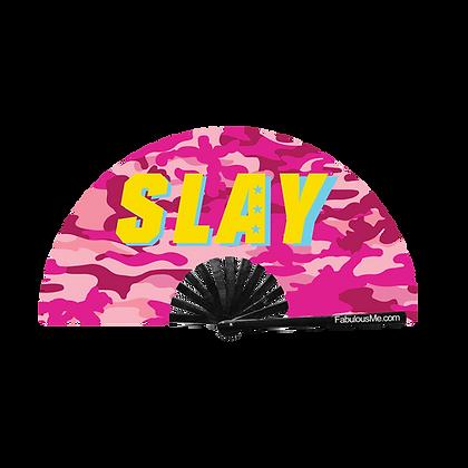 SLAY Party Fan Pink