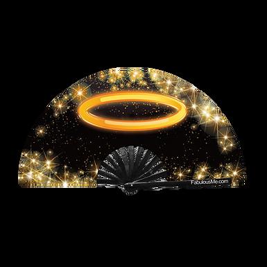 Halo Hand Fan (UV Glow)