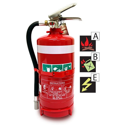 2.5kg ABE Dry Chemical Fire Extinguisher