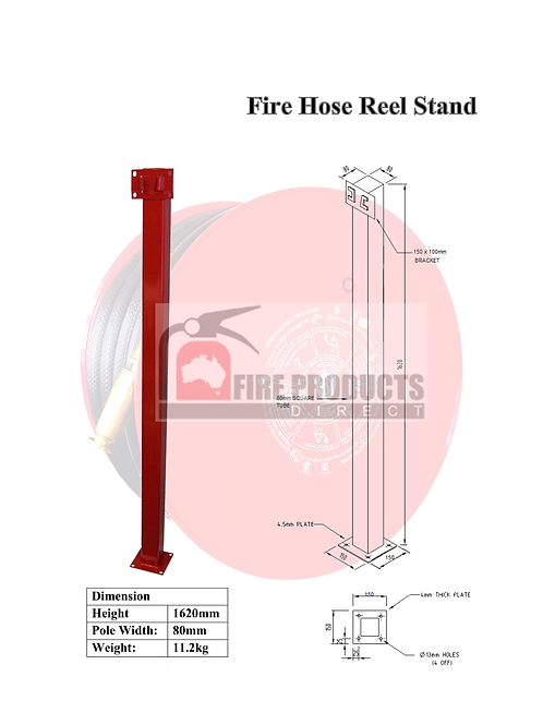 Fire Hose Reel Stand