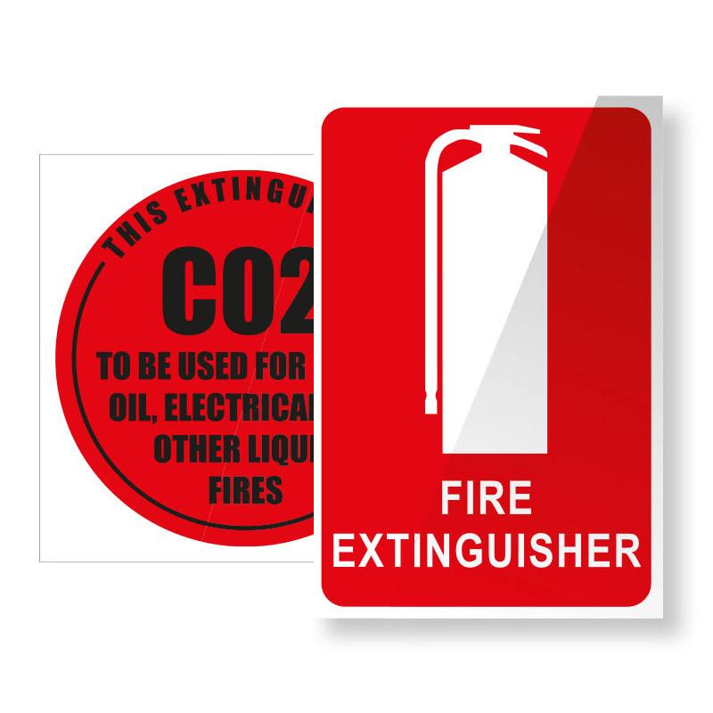CO2 Carbon Dioxide Fire Extinguisher