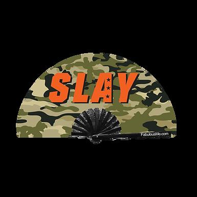 Military Slay Fan Green (UV Glow)