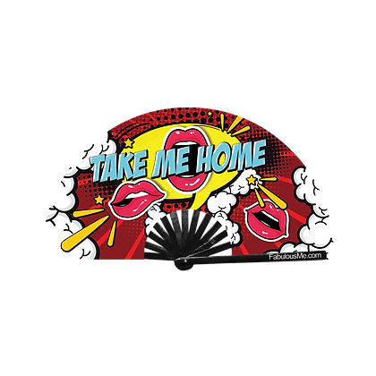 take me home hand fan