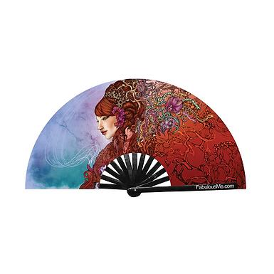 Medusa Fan (UV Glow)