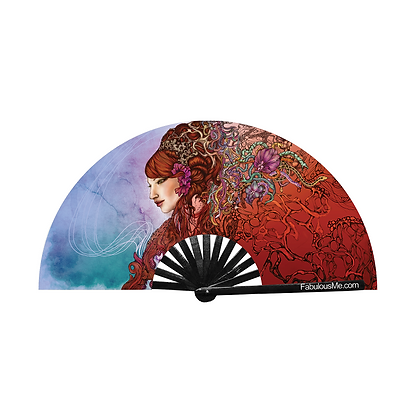 Rave Party Hand Fan