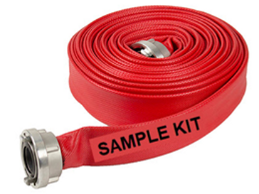 Lay Flat Hose VIC CFA Storz Adaptor Fitted and Clamped