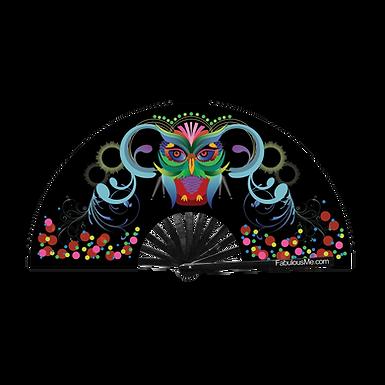 EDM Owl Fan (UV Glow)