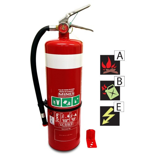 4.5 Kg Dry Chemical Powder Fire Extinguisher ABE