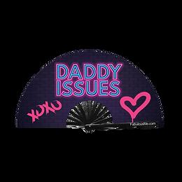 Daddy Issues Fan (UV Glow)