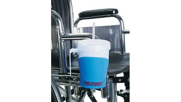 AliMed Wheelchair Cup and Holder