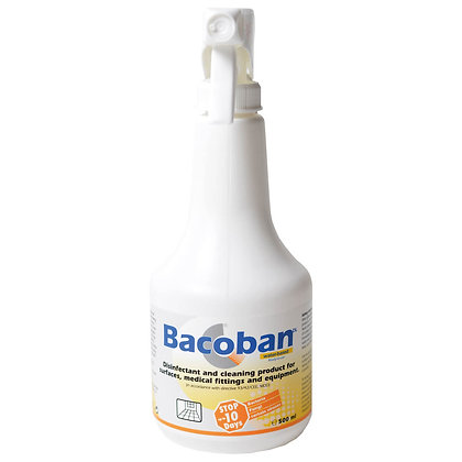 Bacoban Disinfectant and Cleaning Spray 500ml