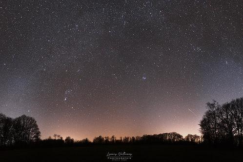 Arche Galactique sur les hauteurs de Froidfontaine 160cm x 80cm