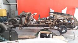 Durham Restoration - Lagonda LG45