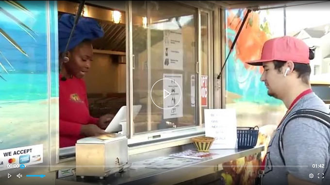 Everyday Hero: Food Truck Delivers Meals to Medical Staff