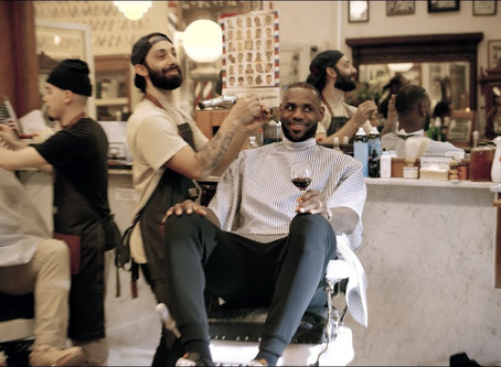 What's in LeBron's Glass?