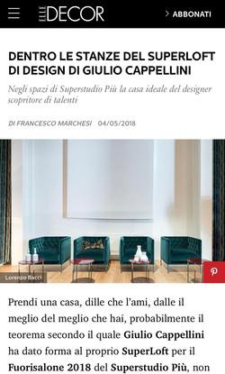 Elle Decor | Laguna for Cappellini